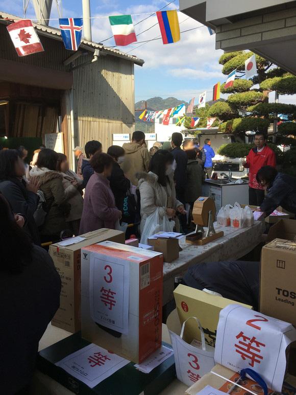 2017感謝祭(ガラポン)