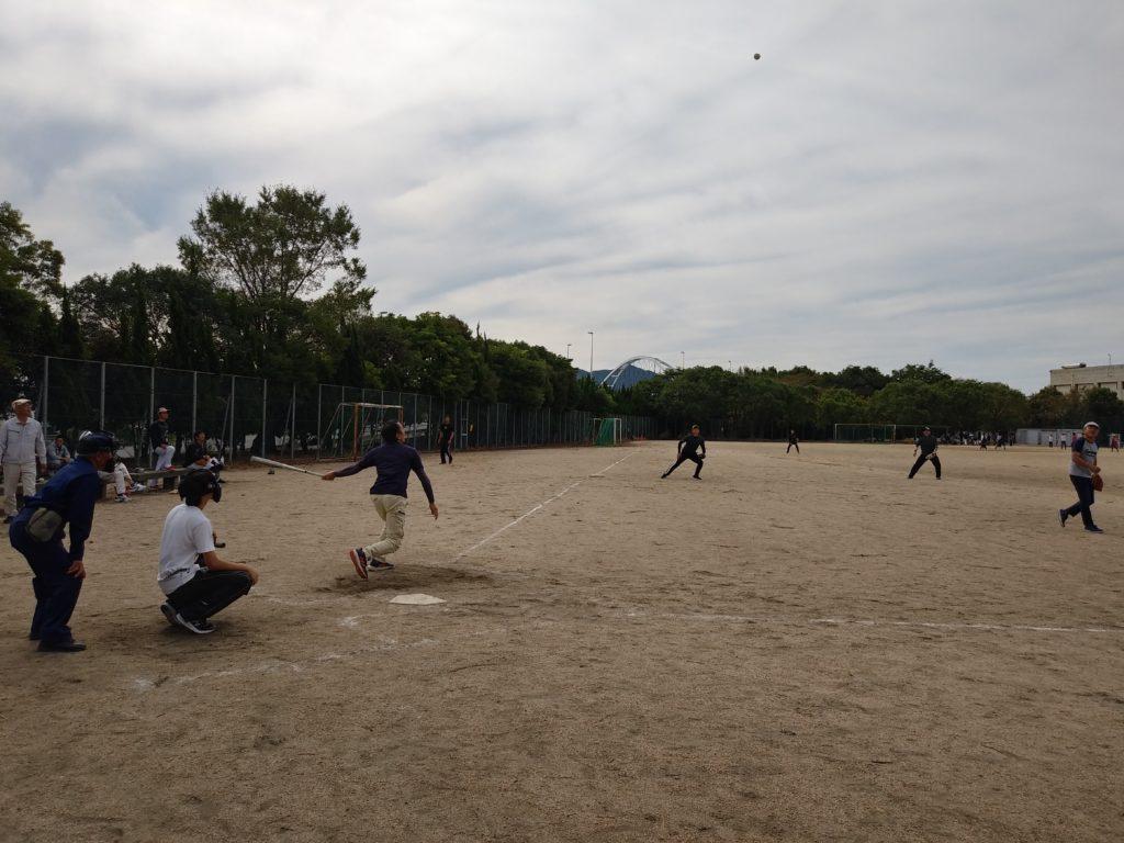 ソフトボール大会2019試合