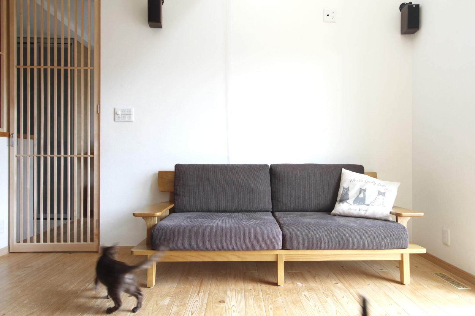 山口県下松市M様邸猫と暮らす