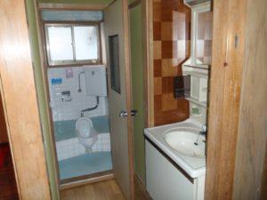 中古リノベーショントイレBefore