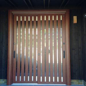 中古リノベーション玄関ドアAfter