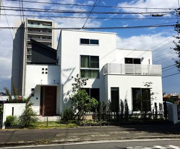 モデルハウス外壁塗替
